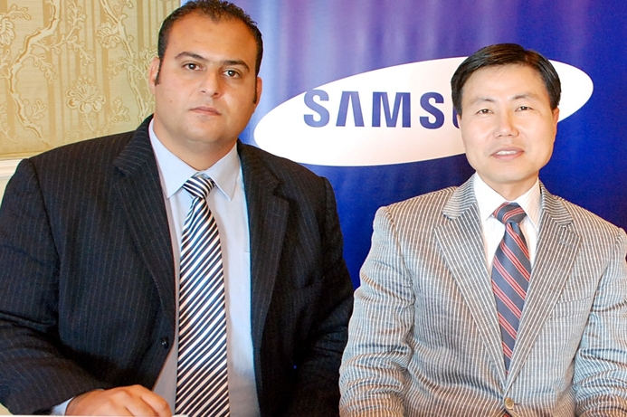 Samsung eyes greater share of Egypt display market
