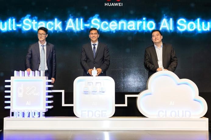 Huawei promotes AI development at GITEX