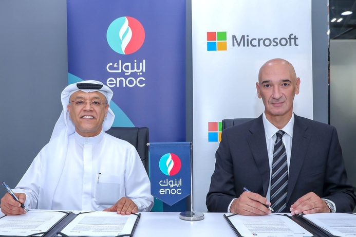 ENOC and Microsoft to create Service Station of the Future