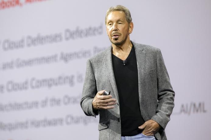 Larry Ellison unveils second generation Oracle cloud