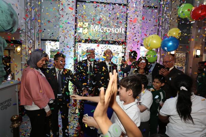 Microsoft and KidZania Kuwait open innovation lab for children