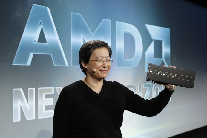 AMD unveils 7nm data centre GPUs