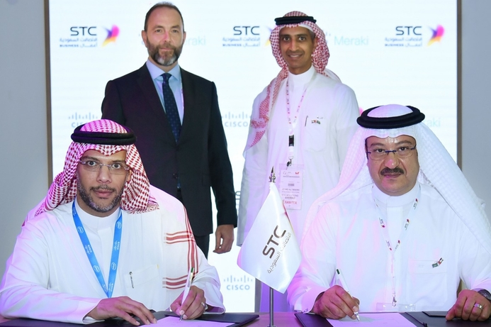 Cisco Meraki and STC Solutions partner on WiFi