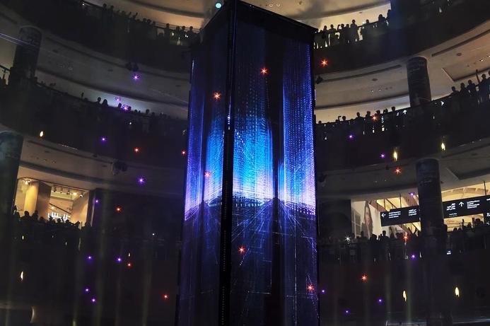 Drone display marks Dubai Mall's 10th anniversary