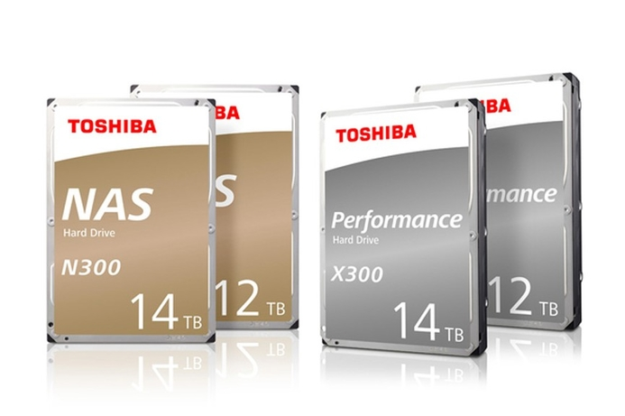 Toshiba boosts N300 and X300 hard drives with 12TB and 14TB models