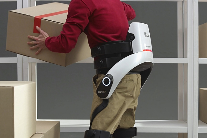 LG shows updated workplace robots at CES 2019