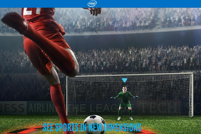 EPL fans can see action from any angle with Intel tech