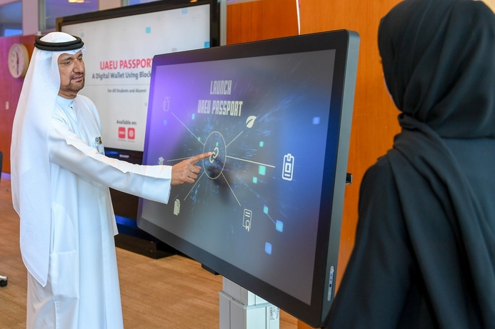 UAE University launches blockchain records app