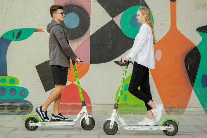 KIWIride brings e-scooter service to Dubai