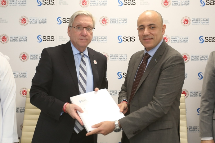 SAS is analytics partner for Special Olympics World Games Abu Dhabi