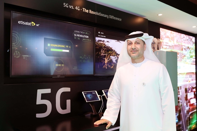 Etisalat and Huawei partner on 5G