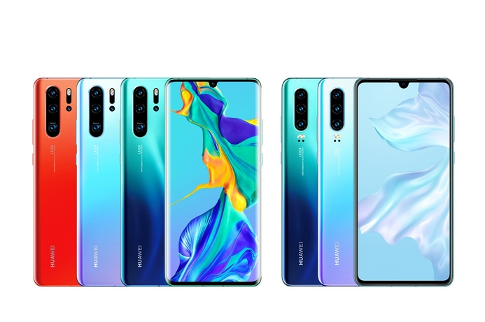 Huawei unveils P30 and P30 Pro phones
