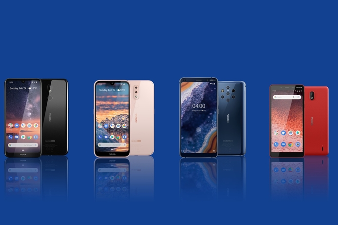 Nokia introduces new smartphone lineup