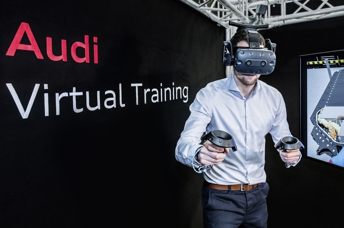 Audi Middle East pioneers Virtual Reality training