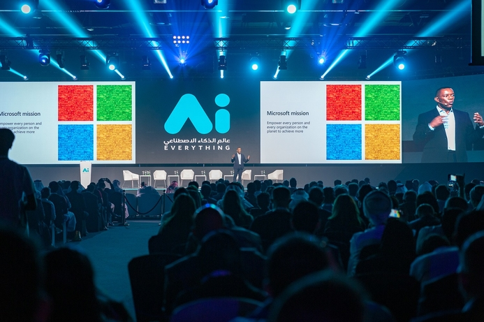 Microsoft emphasizes commitment to UAE's Digital Transformation Agenda at the 'AI Everything' Summit
