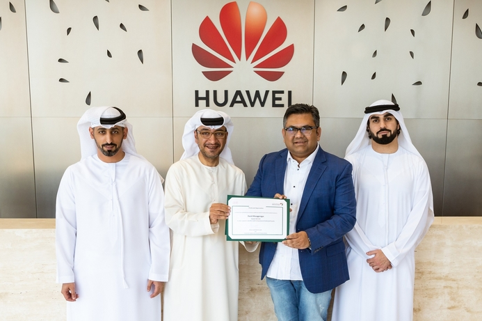 Dubai Economic Department honors Huawei CBG for IP management support