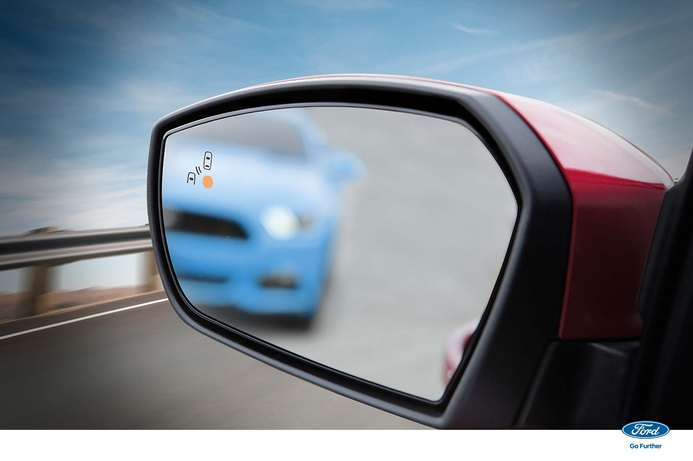 Ford says their blind spot information system can help curb road crash statistics
