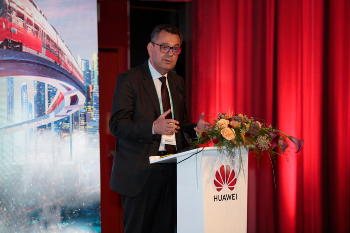 Huawei launches ICT Solutions for rail transportation