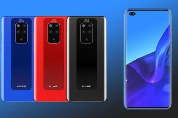 Leaked renders of the Huawei Mate 30 Pro surface online