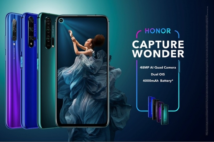 The Honor 20 has global availability, breaks sales record in China