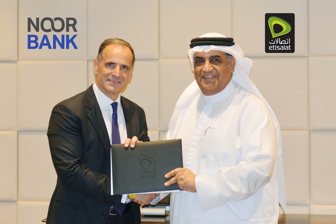 Etisalat and Noor Bank collaborate to offer mobile digital payment service