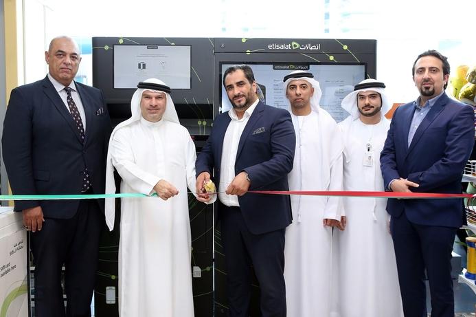 Etisalat brings UAE's first smartphone self-service vending machine to Abu Dhabi