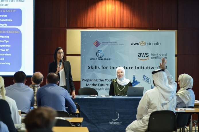 AWS Educate collaborates with The World Bank to educate UAE students on future skills