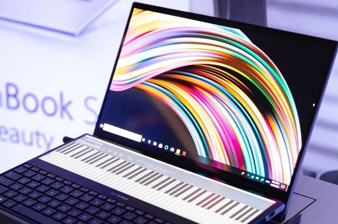 ASUS releases the ZenBook Pro Duo, a laptop that defies convention