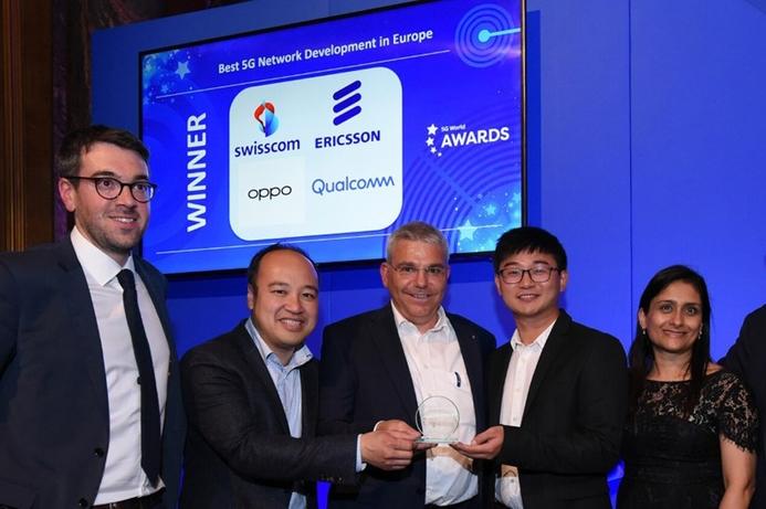 Ericsson's 5G leadership in Europe awarded at World 5G Summit