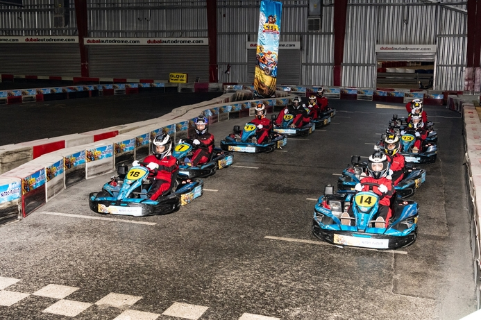 Jumbo and Activision offer gamers real-life experience of Crash Team Racing at Dubai Autodrome