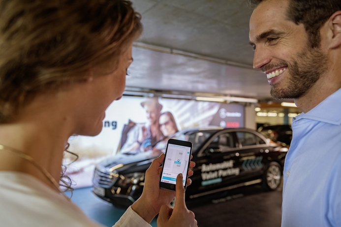 Bosch and Daimler obtain approval for driver-less parking without human supervision