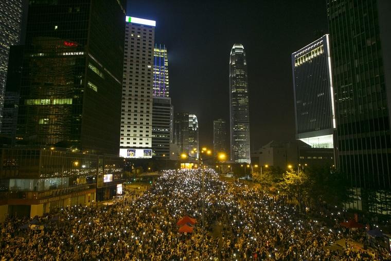 Hong Kong protesters hit with malware