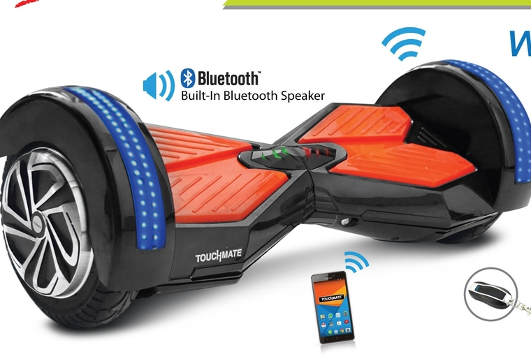 Touchmate touts smart scooter range