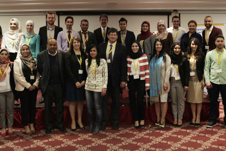 Palestinian students complete SAP professional program