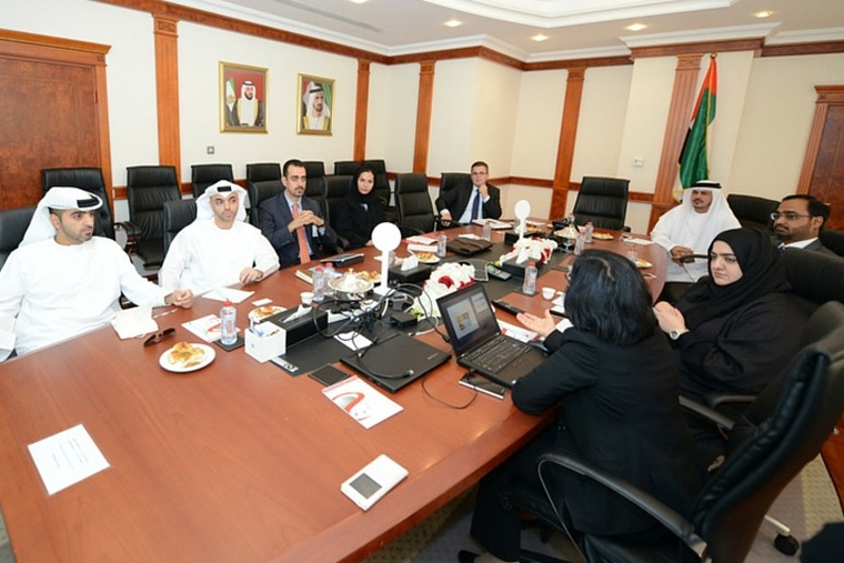 SDG and Abu Dhabi Dept of Finance discuss GRP