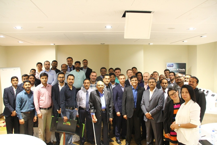 DVCOM, 2N host partner event for resellers in Dubai