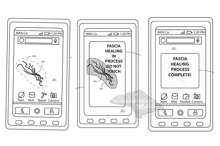 Motorola to create self-healing glass display