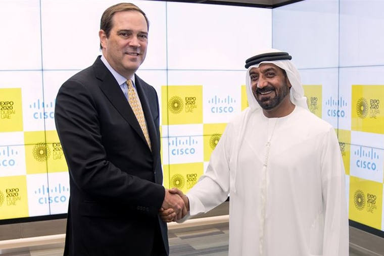 Cisco appointed as Digital Network Partner for Expo 2020