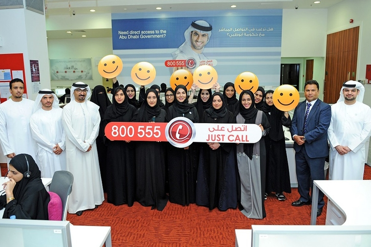Abu Dhabi Government Contact Centre handles 900,000 calls