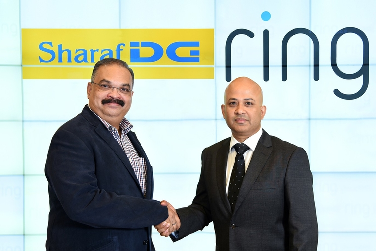 Sharaf DG to sell Ring's home security products