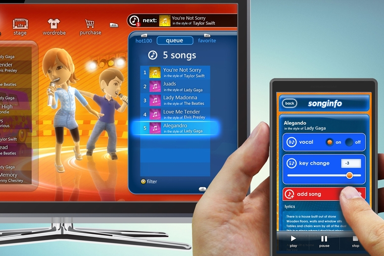 Microsoft shows new second screen app, new games at E3