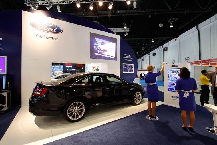 Va-va-voom! Cars at GITEX