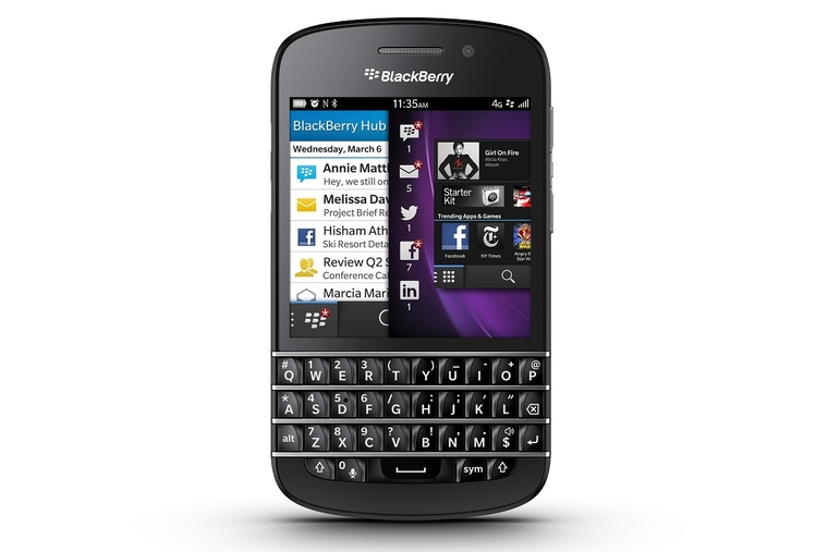 BlackBerry 10 platform and new handsets unveiled