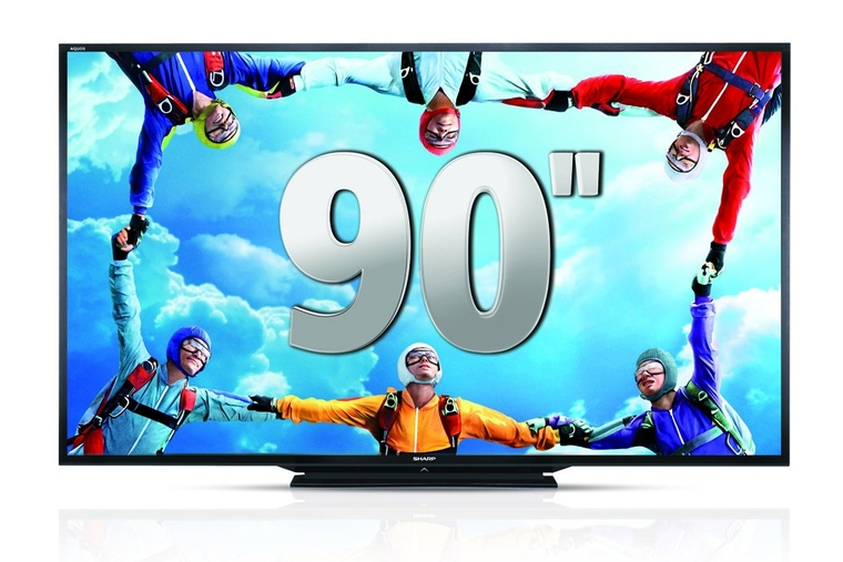 Sharp shows 'world's largest' LED TV at ADES