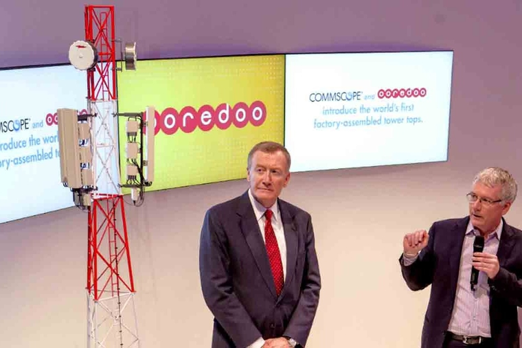 Ooredoo, CommScope in 'new approach' to wireless