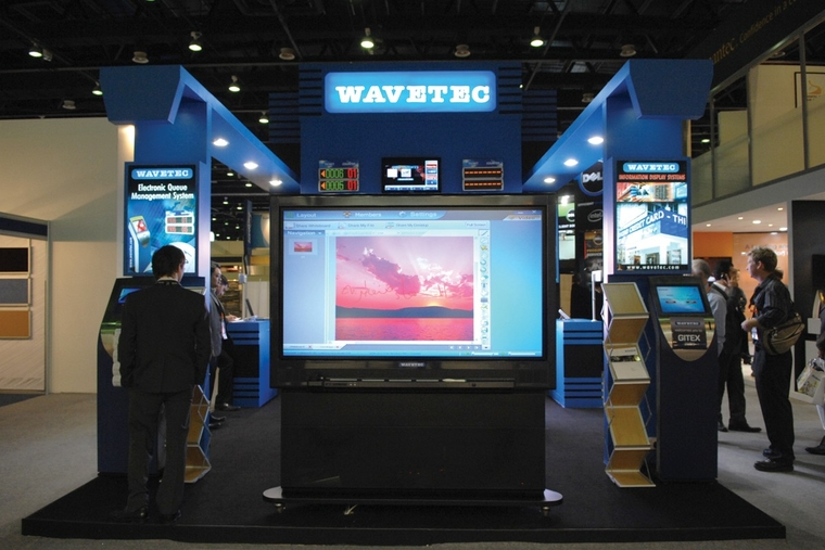 Wavetec's interactive touch solutions