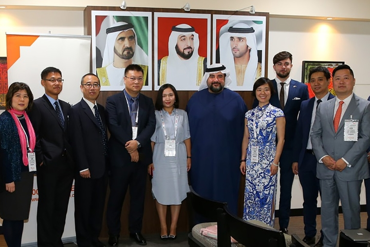 Chinese businesses visit GITEX to discuss smart cities