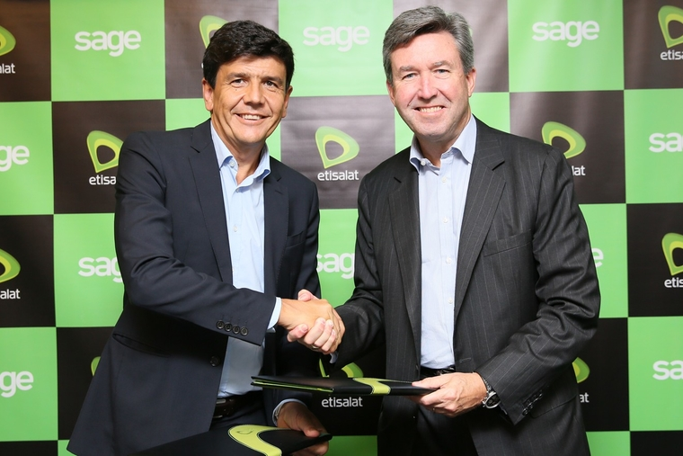 Etisalat joins forces with Sage Middle East
