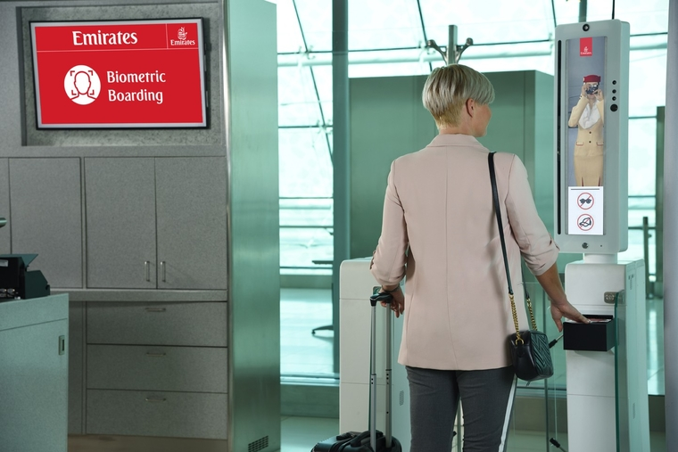 Emirates developing 'biometric path' for passengers