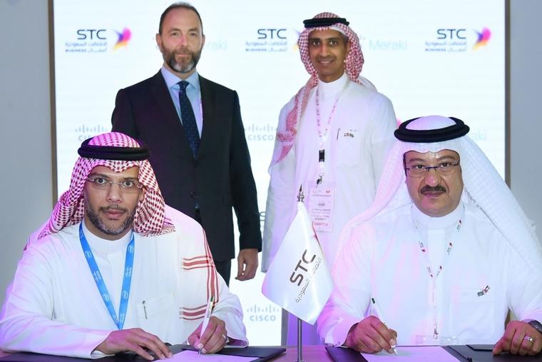 Cisco Meraki and STC Solutions partner on WiFi